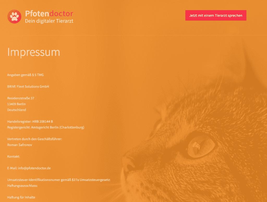 digitaler Tierarzt - pfotendoctor.de